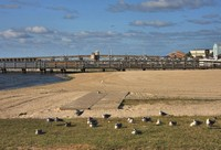 Somers Point Beach and Bridge